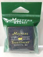 2018 Masters Golf Tournament BLUE LOGO MAGNET from AUGUSTA NATIONAL