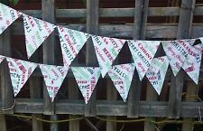 Christmas Xmas bunting - bunting for everyday use, photography,  baby