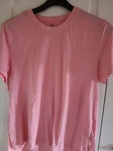 Adidas Damen Shirt XL Rose Rückenprint