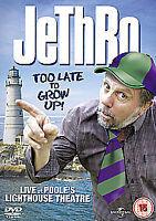 Jethro: Too Late to Grow Up [DVD], Very Good DVD, ,
