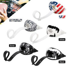 Sports Football Mouth Guard Piece with Strap Lip Teeth Protector Max Airflow US