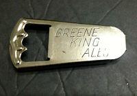 """Vintage Greene King Ales Bottle Opener 3 """" long"""