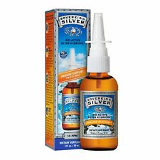 Sovereign Silver Bio-Active Silver Hydrosol for Immune Support - 10 ppm, 2oz .
