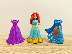 Disney Princess Merida Magiclip Magic Clip poupée fashion Edition 3 robes