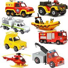 Feuerwehrmann Sam Fahrzeug Set Feuerwehr Neptun Phönix Jupiter Wallaby Die Cast