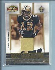 2007 Gridiron Gear Next Generation Game Used MARQUES COLSTON Saints no.NG-21