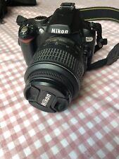 Nikon D D60 10.2MP Digital SLR Camera - Black (Kit w/ AF-S DX VR)