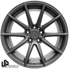 UP100 19x9.5 5x112 Matte Gunmetal ET40 Wheels Fits Audi b5 b6 b7 b8 c4 c6 Q5