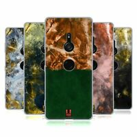 HEAD CASE DESIGNS GOLD LEAF ABSTRACT ART SOFT GEL CASE FOR SONY PHONES 1
