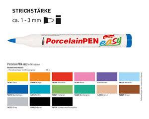 Porzellanmaler Hobby Line, Porzellanstift, Porzellanfarbe, Glasmalstift