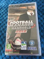 Football Manager Handheld 2012 PSP UMD PlayStation Video Game Uk .new and Sealed