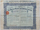 THE+BRITISH+MOTOR+CAB+COMPANY+LIMITED+Five+Shares+1910