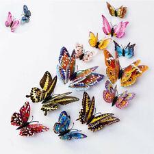 Butterfly Lots Fridge Refrigerator Kitchen Ornament Magnets 12pcs Home