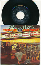 "THE BEATLES 45 TOURS 7"" HOLLANDE THE BEATLES' MOVIE MEDLEY"