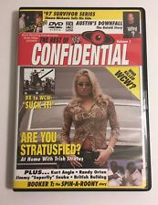 WWE The Best of CONFIDENTIAL Vol 1 World Wrestling Entertainment DVD