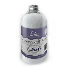 Lavender, Peppermint, Lemongrass Epsom Bath Salts - Relax - Salts & Co - 500g