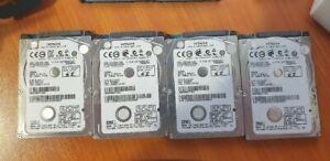 320Gb 5400Rpm 2.5 Thin Drives x 4 System Pull lot 2