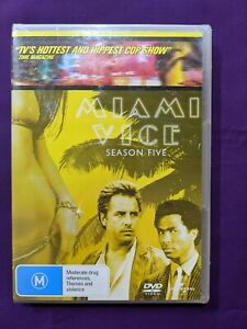 Miami Vice season 5 brand new and sealed. Region 2, 4 and 5