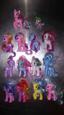 MLP Lot 13 Rare G4 Ponies +1 Spike Dragon HTF Rainbow Flash Skywishes Star Swirl