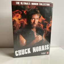 CHUCK NORRIS THE ULTIMATE NORRIS COLLECTION DVD BOX SEALED DUTCH SUBTITLES