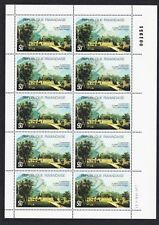 Sheet Rwandan Stamps