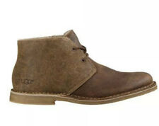 UGG MEN LEIGHTON BOMBER JACKET CHESTNUT CHUKKA SHOE US 9