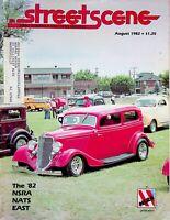 Vintage Street Scene Magazine August 1982 The '82 NSRA NATS East m882