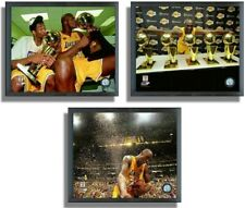 Kobe Bryant Los Angeles Lakers NBA Finals Photo Framed Collection (3-Pack)