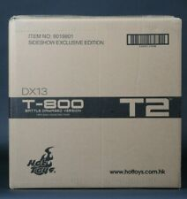 Hot Toys Terminator 2 T2 T-800 Battle Damaged DX13 Sideshow Exclusive Sealed Box
