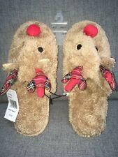 Cute Reindeer Indoor Slippers, Brand New