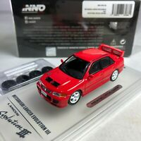 1/64 INNO64 Mitsubishi Lancer Evolution III GSR Red Philippines with Spare Wheel