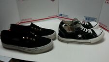 Converse And Vans Slip On Lot - Womens Sz 7 +++