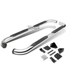 """Fit 98-11 Ranger Super 4Dr Chrome Stainless 3"""" Side Step Nerf Bar Running Board"""