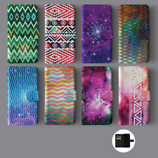 GALAXY NEBULA SPACE STARS UNIVERSE LEATHER WALLET PHONE CASE FOR IPHONE