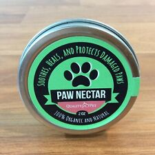 New listing Paw Nectar Quality Pet - Organic & Natural - Soothes Heals Protects Damaged Paws