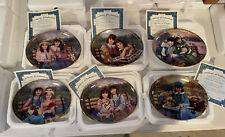 The Bradford Exchange Seasons Of sharing: Sisters for Life Set Of 6 Plates