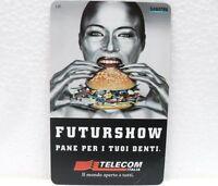"""SCHEDE TELEFONICHE G 974-""""TELECOM ITALIA""""-""""FUTURSHOW 1999"""" BOLOGNA 9-12 APRILE"""