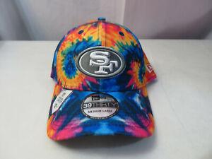 New Era 2020 Men NFL San Francisco 49ers Crucial Catch Hat Cap 39THIRTY Size M/L