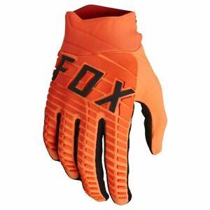 New 2022 Fox 360 Motocross Gloves Flo Orange Small  25793-824-S