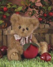 "10"" CHRISTOPHER CRISPIN Bearington Teddy Bear NEW NWT Apple Scented179945"
