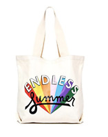 """ban.do """"Endless Summer"""" Large Canvas Tote"""