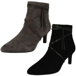 Womens Clarks Smart Ankle Boots Calla Aster