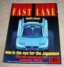 Fast Lane 1991 Road Test Porsche 911 Carrera RS Mallock RML GT40 Bike Tst Ducati