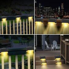 4x Lampe Solaire Extérieur LED éclairage étanche Sans Fil Spot applique murale