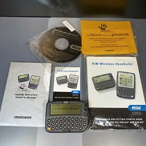 Working BLACKBERRY R800D-2-PW Research In RIM R850 Pager Very Rare Collection