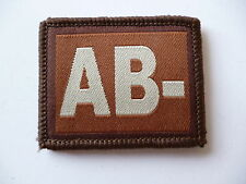 BLOOD GROUP PATCH 6.