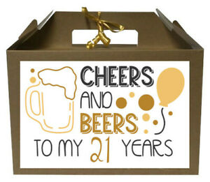 Personalised Birthday Gift Box Any Age 16th 18th 21st 40th Party Present Box
