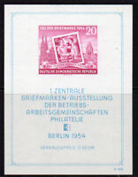 East Germany Stamp Miniature Sheet c1954 Unmounted Mint Never Hinged (8324)