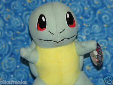 New Pokemon Squirtle Plush Doll 1999 Nintendo USA Seller Perfect for Pokemon GO