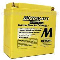 Bateria AGM Motobatt Para Harley-Davidson® Sportster®, Dyna®, Softail® y Buell®